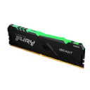 DDR4 8 GB. 3200 MHZ KINGSTON FURY BEAST RGB