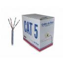 CABLE UTP CAT 5e 100M NETMAK INTERIOR
